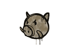 Sealed Graffiti | Piggles (Dust Brown)