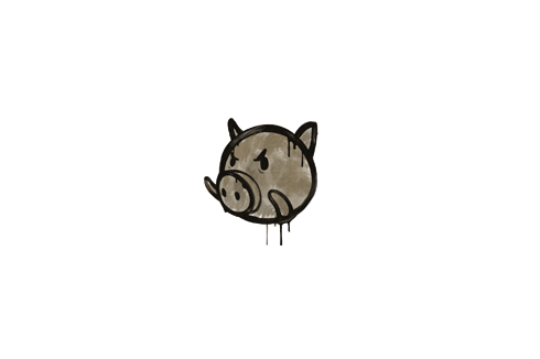 Sealed Graffiti | Piggles (Dust Brown) Prices