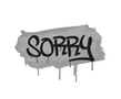 Sealed Graffiti | Sorry (Shark White)