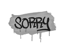 Sealed Graffiti   Sorry