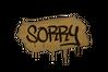 Sealed Graffiti | Sorry (Desert Amber)