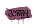 Graffiti | Sorry (Princess Pink)