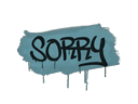 Sealed Graffiti | Sorry (Wire Blue)