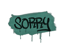 Sealed Graffiti | Sorry (Frog Green)
