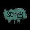 Sealed Graffiti | Sorry (Frog Green)