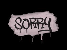 Запечатанный граффити | Прости (Траншейный розовый)