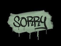 Запечатанный граффити | Прости (Денежный зелёный)