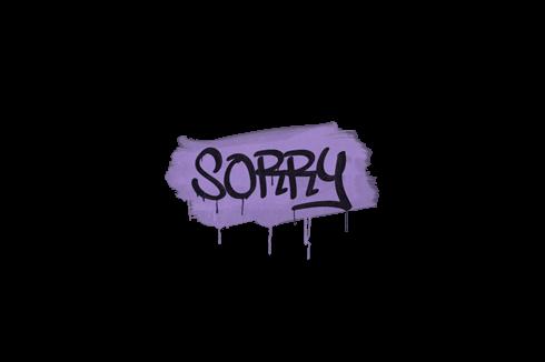 Sealed Graffiti | Sorry (Violent Violet) Prices