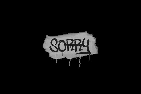 Sealed Graffiti   Sorry (Shark White) Prices