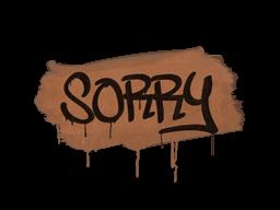 Запечатанный граффити | Прости (Тигровый оранжевый)