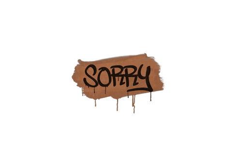 Graffiti | Sorry (Tiger Orange) Prices