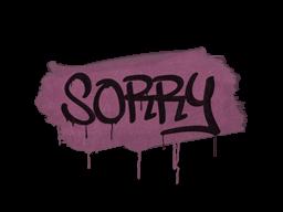 Запечатанный граффити   Прости (Нежный розовый)
