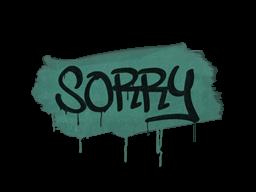 Запечатанный граффити | Прости (Лягушачий зелёный)