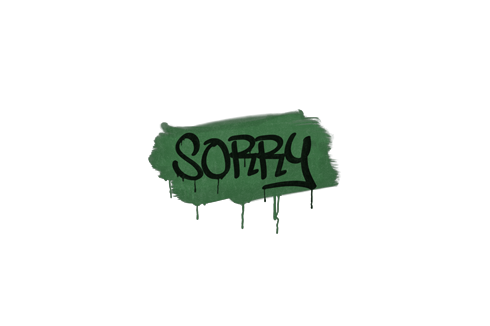 Sealed Graffiti | Sorry (Jungle Green) Prices