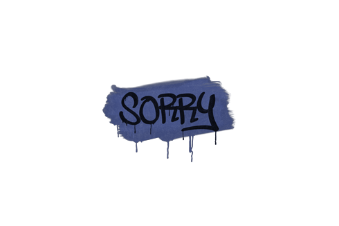 Graffiti | Sorry (SWAT Blue) Prices