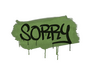 Skin Sealed Graffiti | Sorry