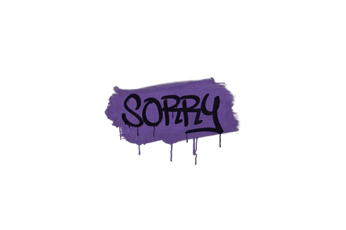 Graffiti | Sorry (Monster Purple) Prices
