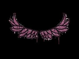 Запечатанный граффити   Улет (Нежный розовый)