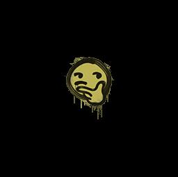 Sealed Graffiti   Thoughtfull (Tracer Yellow)