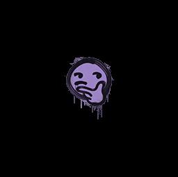 Sealed Graffiti | Thoughtfull (Violent Violet)