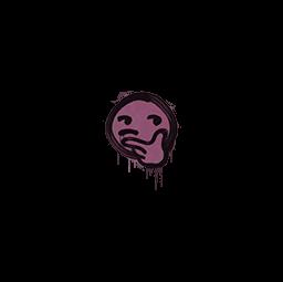 Sealed Graffiti | Thoughtfull (Princess Pink)