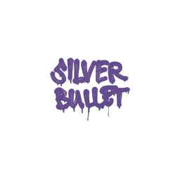 Sealed Graffiti | Silver Bullet (Monster Purple)