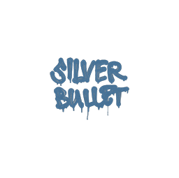 Sealed Graffiti | Silver Bullet (Monarch Blue)