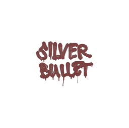 Sealed Graffiti | Silver Bullet (Brick Red)