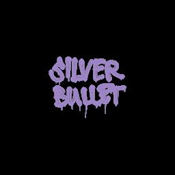 Sealed Graffiti   Silver Bullet (Violent Violet)