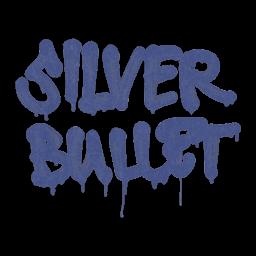 Sealed Graffiti | Silver Bullet (SWAT Blue)