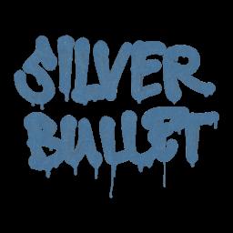 Sealed Graffiti | Silver Bullet (Monarch Blue)
