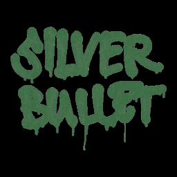 Sealed Graffiti | Silver Bullet (Jungle Green)
