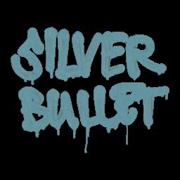 Sealed Graffiti | Silver Bullet (Wire Blue)