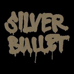 Sealed Graffiti | Silver Bullet (Dust Brown)