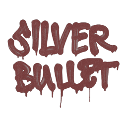 Sealed Graffiti | Silver Bullet (Brick Red)