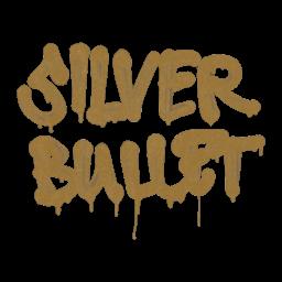 Sealed Graffiti | Silver Bullet (Desert Amber)