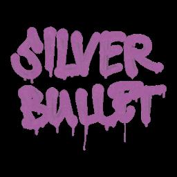 Sealed Graffiti | Silver Bullet (Bazooka Pink)