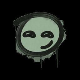 Sealed Graffiti | Smirk (Cash Green)