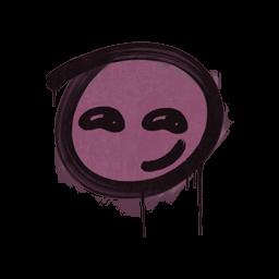 Sealed Graffiti | Smirk (Princess Pink)