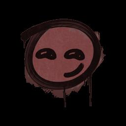 Sealed Graffiti | Smirk (Brick Red)