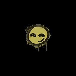 Sealed Graffiti   Smirk (Tracer Yellow)