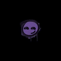 Sealed Graffiti   Smirk (Monster Purple)