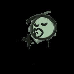 Sealed Graffiti | Smooch (Cash Green)