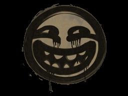 Запечатанный граффити   Лесть (Пыльный коричневый)