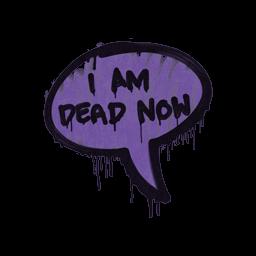 Sealed Graffiti | Dead Now (Monster Purple)