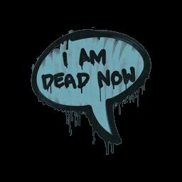 Sealed Graffiti | Dead Now (Wire Blue)