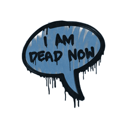 Sealed Graffiti | Dead Now (Monarch Blue)
