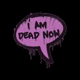 Sealed Graffiti | Dead Now (Bazooka Pink)