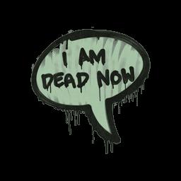 Sealed Graffiti | Dead Now (Cash Green)