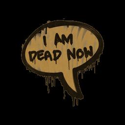 Sealed Graffiti | Dead Now (Desert Amber)